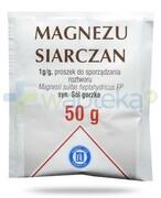 Hasco Magnezu Siarczan 1g/g proszek do sporządzania roztworu 50 g REALIZACJA ZAMÓWIEŃ W 1 DZIEŃ ROBOCZY Hasco