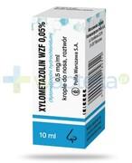 Xylometazolin WZF 0,05% krople do nosa 10 ml Polfa Warszawa