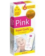 Domowe Laboratorium Pink Super Czuły test ciążowy płytkowy 1 sztuka Hydrex