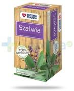 Rodzina Zdrowia Szałwia 1200mg zioła do zaparzania 30 saszetek REALIZACJA ZAMÓWIEŃ W 1 DZIEŃ ROBOCZY Silesian Pharma