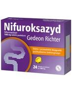 Nifuroksazyd Gedeon Richter 100mg 24 tabletki REALIZACJA ZAMÓWIEŃ W 1 DZIEŃ ROBOCZY Gedeon Richter