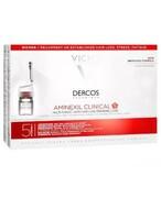 Vichy Dercos Aminexil Clinical 5 kuracja przeciw wypadaniu włosów dla kobiet 21 ampułek