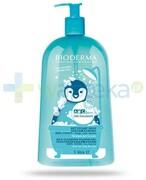 Bioderma ABCDerm Moussant delikatny żel myjący do twarzy, ciała i włosów 1000 ml Bioderma