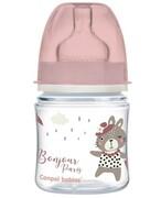 Canpol Babies EasyStart butelka szeroka antykolkowa niebieska Bonjour Paris 120 ml [35/231_pin] 1000