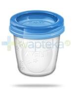 Avent Philips pojemniki na pokarm o pojemności 180 ml 10 sztuk [SCF618/10] 1000