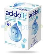 Acidolit bezsmakowy proszek 10 saszetek Polpharma