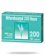 Nifuroksazyd 200mg 12 tabletek powlekanych Hasco REALIZACJA ZAMÓWIEŃ W 1 DZIEŃ ROBOCZY Hasco
