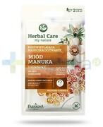 Farmona Herbal Care Miód Manuka z witaminą C maseczka rozświetlająca 2x 5 ml 1000