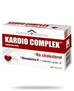 Domowa Apteczka Kardio Complex na cholesterol 30 tabletek REALIZACJA ZAMÓWIEŃ W 1 DZIEŃ ROBOCZY Domowa Apteczka