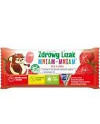 Zdrowy lizak Mniam-Mniam z witaminą C i D o smaku truskawkowym (łezka) 1 sztuka REALIZACJA ZAMÓWIEŃ W 1 DZIEŃ ROBOCZY Starpharma