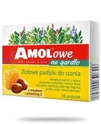 Amolowe na gardło pastylki do ssania z miodem i witaminą C 16 sztuk Takeda Pharma