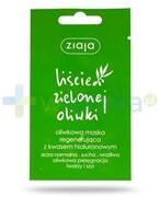 Ziaja Liście Zielonej Oliwki maska regenerująca 7 ml 1000
