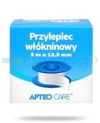 Apteo Care przylepiec włókninowy 5m x 12,5mm kolor niebieski Apteo