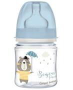 Canpol Babies EasyStart butelka szeroka antykolkowa niebieska Bonjour Paris 120 ml [35/231_blu] 1000