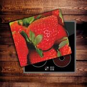 Szkło na płytę indukcyjną - Truskawka 01