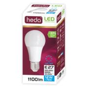 HD112 A60, 12W (76W), 1100lm, E27,zimna barwa światła 6500K ŻARÓWKA LED HEDA