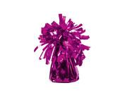 Obciążnik foliowy do balonów napełnionych helem - ciemny różowy - 126 g.