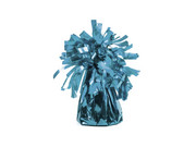 Obciążnik foliowy do balonów napełnionych helem - błękitny - 117 g.