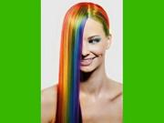 Zmywalny kolorowy spray do włosów 125 ml - zielony