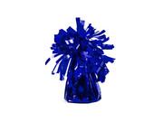 Obciążnik foliowy do balonów napełnionych helem - niebieski - 121 g.