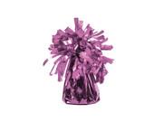 Obciążnik foliowy do balonów napełnionych helem - różowy - 129 g.