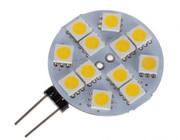 Żarówka LED #ly01 g4-5050-12 white/warm white