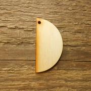Zawieszka drewniana PÓŁ KOŁA