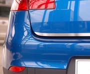 NISSAN MICRA IV 5D HATCHBACK od 2010 Listwa na klapę bagażnika (matowa) ALUFROST
