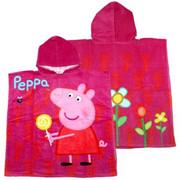 Poncho - świnka PEPPA /różowa/