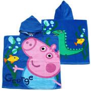 Poncho - świnka PEPPA /niebieska/