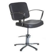 Fotel fryzjerski Dario szary BH-8163