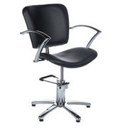 Fotel fryzjerski Dario czarny BH-6113