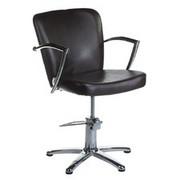Fotel fryzjerski LIVIO brązowy BH-8173