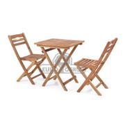 Hecht Meble Ogrodowe Balcony Set A Stół + 2 Krzesła