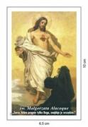 Obrazek św. Małgorzata Alacoque. Patronka ofiarujących się NSPJ - 03212