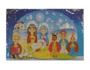 Puzzle Boże Narodzenie Pastuszkowie (DZIECI) 20x13cm 40 elementów PUZ072 - 56852