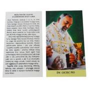 Modlitwa św. Ojca Pio o uzdrowienie duszy i ciała 6,5x12 - 57754