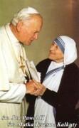 Obrazek św. Matka Teresa z Kalkuty i Św Jan Paweł II. Modlitwa do św Matki Teresy - 03469
