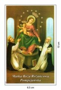 Obrazek Matka Boża Różańcowa Pompejańska. Suplika bł. Bartolo Longo - 03481