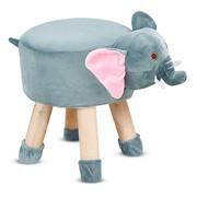 Taboret krzesełko dla dzieci stołek pufka słoń