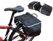 Duża sakwa na bagażnik rowerowa torba turystyczna