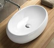 Rea Melania umywalka nablatowa, biały REA-U0656