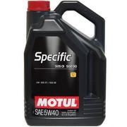 Olej motocyklowy Motul Specific 505.01 502.00 5W40 5L Producent
