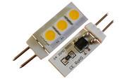 Żarówka LED 0,6W G4 12V 3xSMD5050 ciepła IdeaLed