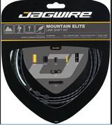 Jagwire Mountain Elite Link Linka przerzutki - zestaw, black 2020 Linki przerzutki i pancerze Jagwire 18017140
