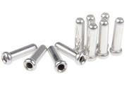 Shimano Końce linki przerzutki 10 sztuk, srebrny 2021 Linki przerzutki i pancerze Shimano Y-62098060