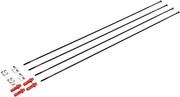 Fulcrum Zestaw szprych Tylne koło lewe 4 sztuki dla Racing Quattro LG Clincher 2022 Szprychy rowerowe Fulcrum RF0150333