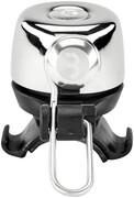 BBB Noisy Dzwonek rowerowy, srebrny/czarny 2022 Dzwonki BBB 2905051708