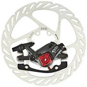 Avid Bearing 7 Hamulec tarczowy przednie koło/tylne koło, black 160mm 2020 Zaciski do hamulców tarczowych Avid 2030022500