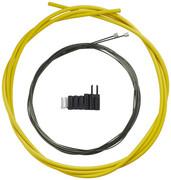 Shimano OPTISLICK Linka przerzutki - zestaw do roweru szosowego, yellow 2020 Linki przerzutki i pancerze Shimano Y-60198080